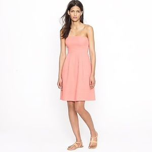 J Crew Strapless Beach Dress Pink Women's Size 4